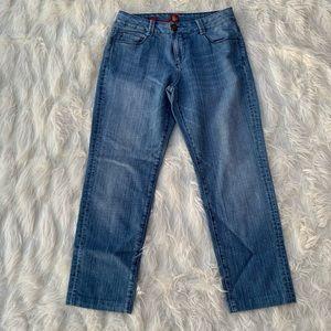 Vintage Mom Jeans Sasson Skinny Leg Shuffle Jeans